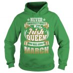 March saint patricks day hoodies