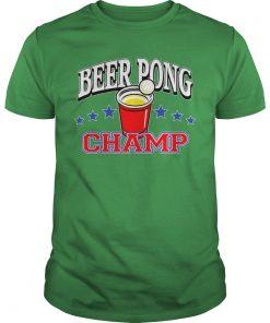 Beer Pong Championship Shirt