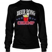 Beer Pong Championship Shirt Sleeve-Tee