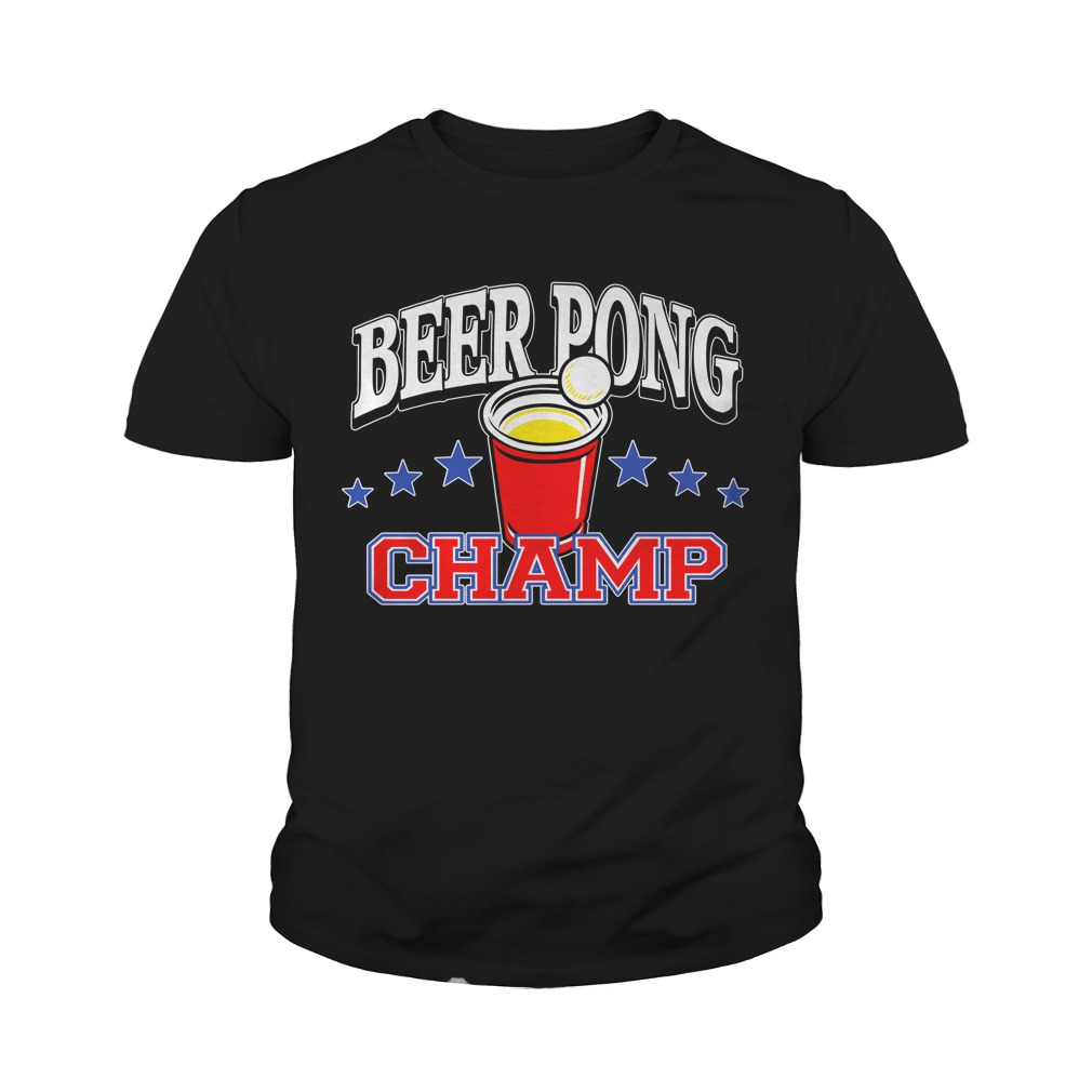 Beer Pong Championship Shirt Youth-Tee