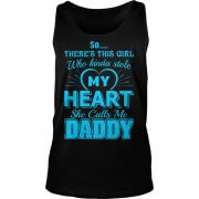 Daughter who kinda stole heart Daddy tank top