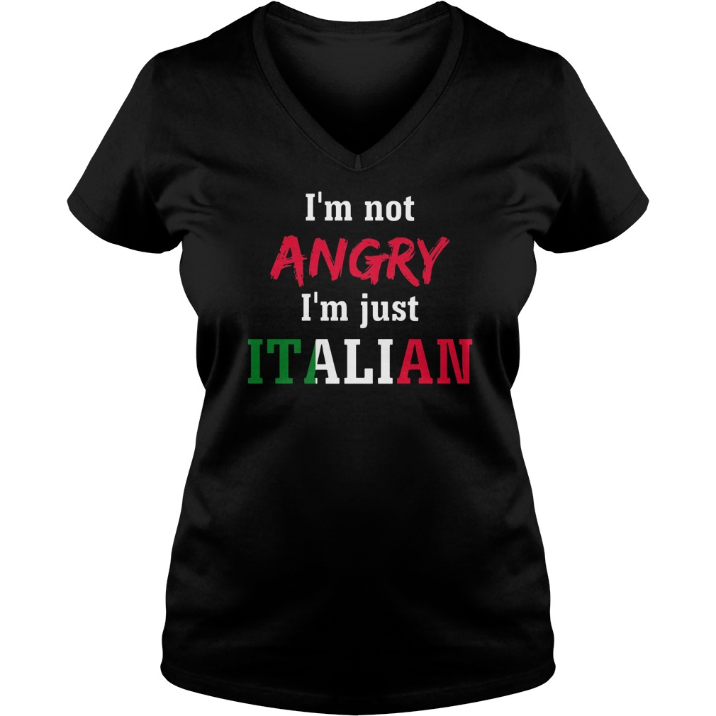 im-not-angry-im-just-italian-v-neck-t-shirt