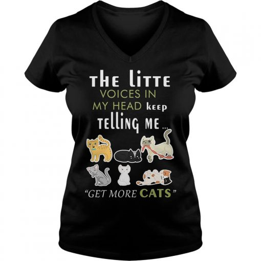 little-voices-head-keep-telling-get-cats-v-neck-t-shirt