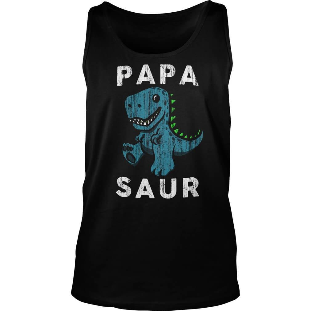 papa-saur-tank-top