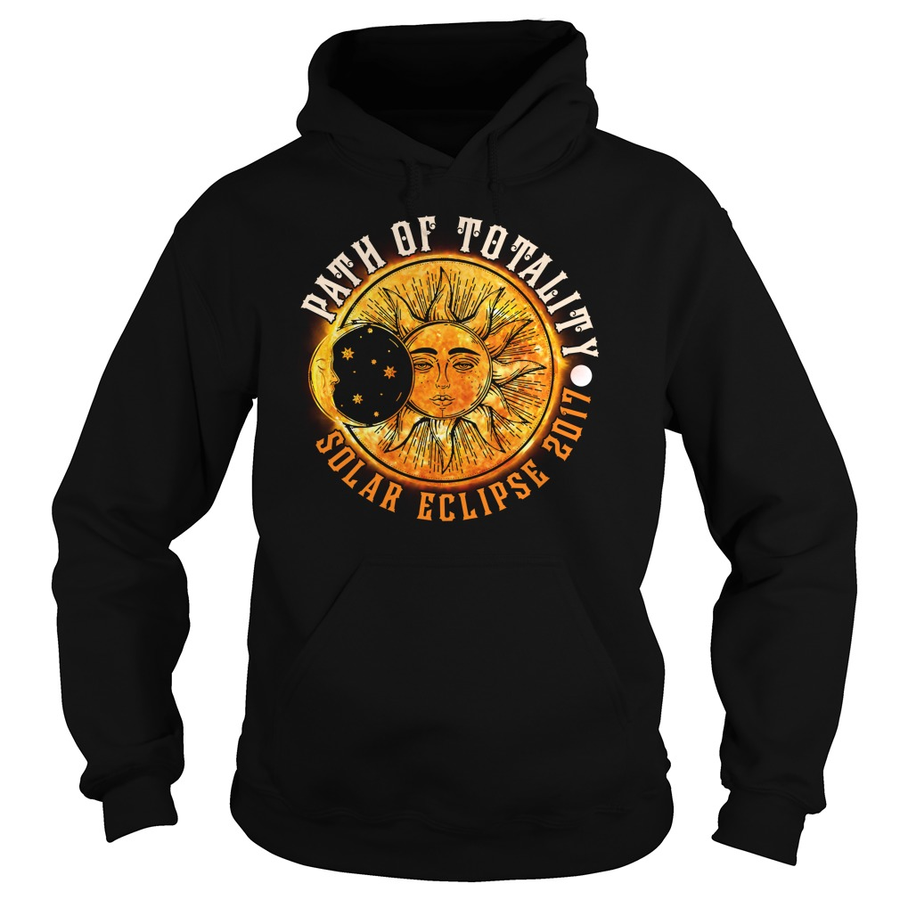 PATH OF TOTALITY SOLAR ECLIPSE 2017 HOODIE