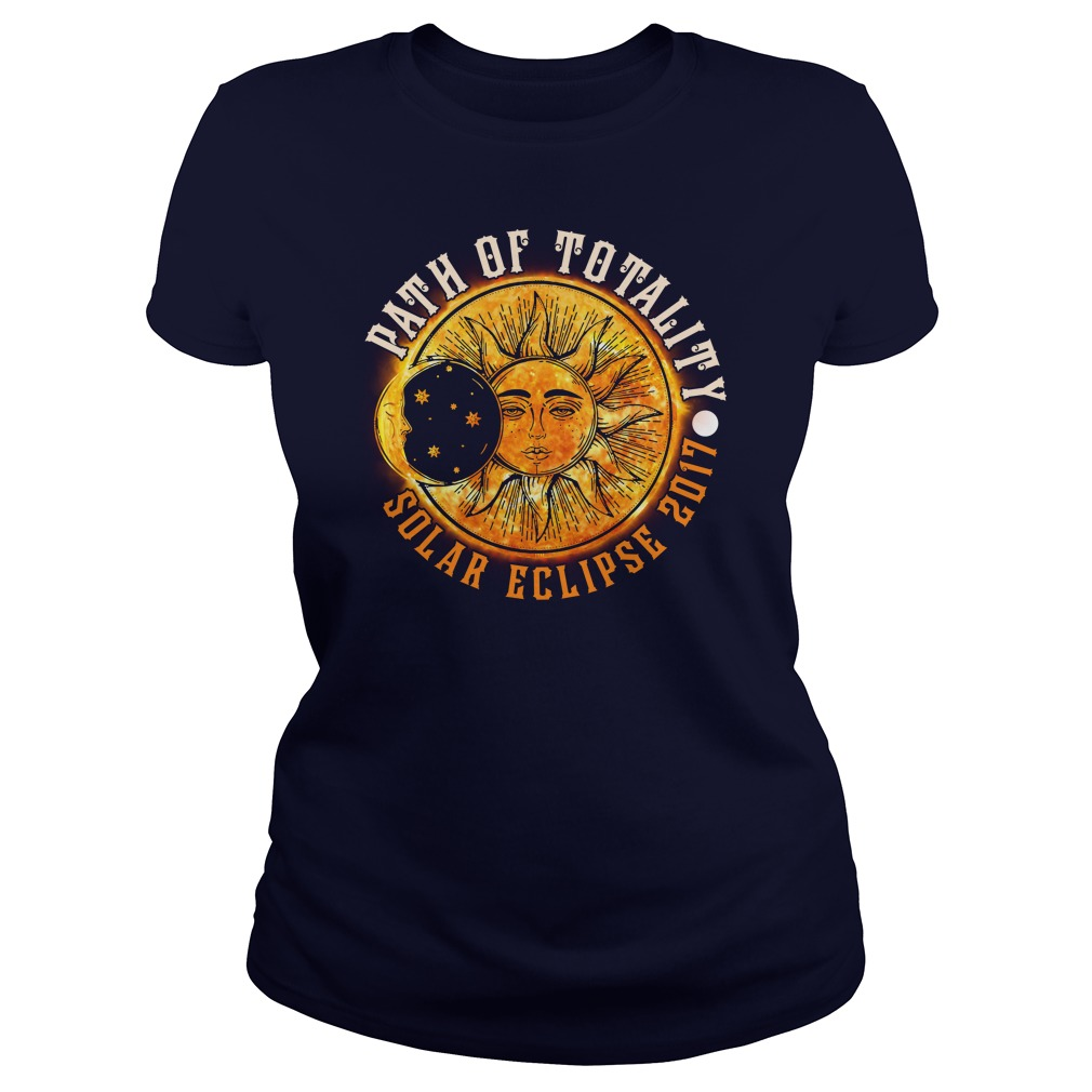 PATH OF TOTALITY SOLAR ECLIPSE 2017 LADIES TEE