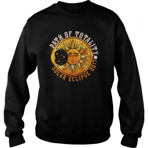 PATH OF TOTALITY SOLAR ECLIPSE 2017 SWEAT SHIRT