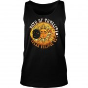 PATH OF TOTALITY SOLAR ECLIPSE 2017 TANK TOP