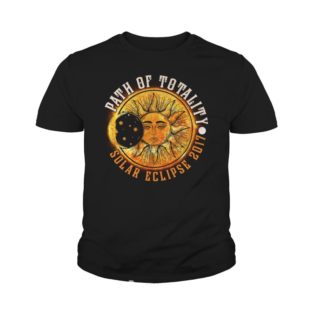 PATH OF TOTALITY SOLAR ECLIPSE 2017 YOUTH TEE