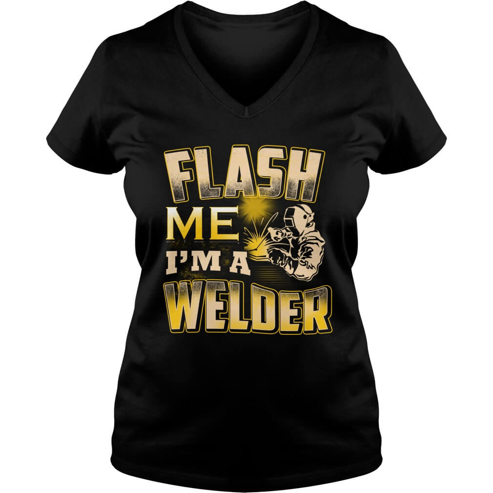 flash-im-welder-v-neck-t-shirt