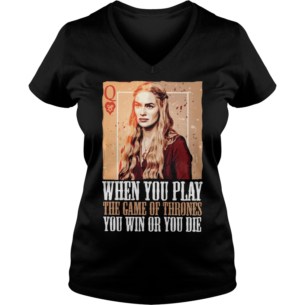 Play Game Thrones V Neck T Shirt