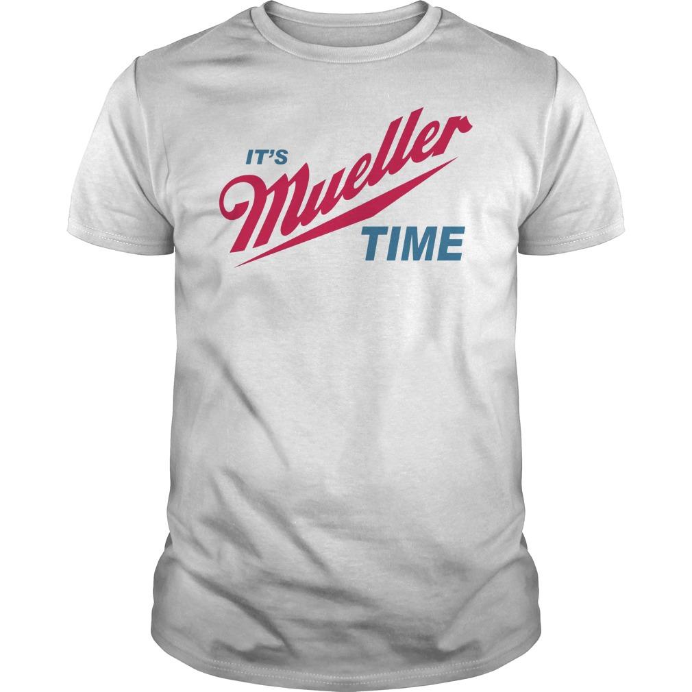 Robert Mueller Time Resist Anti Trump Shirt
