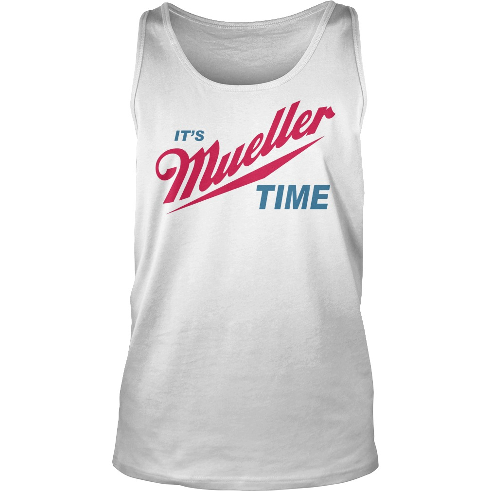 Robert Mueller Time Resist Anti Trump Tank Top