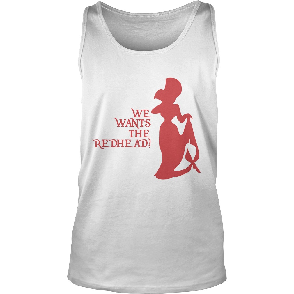 Wants Redhead Tank Top