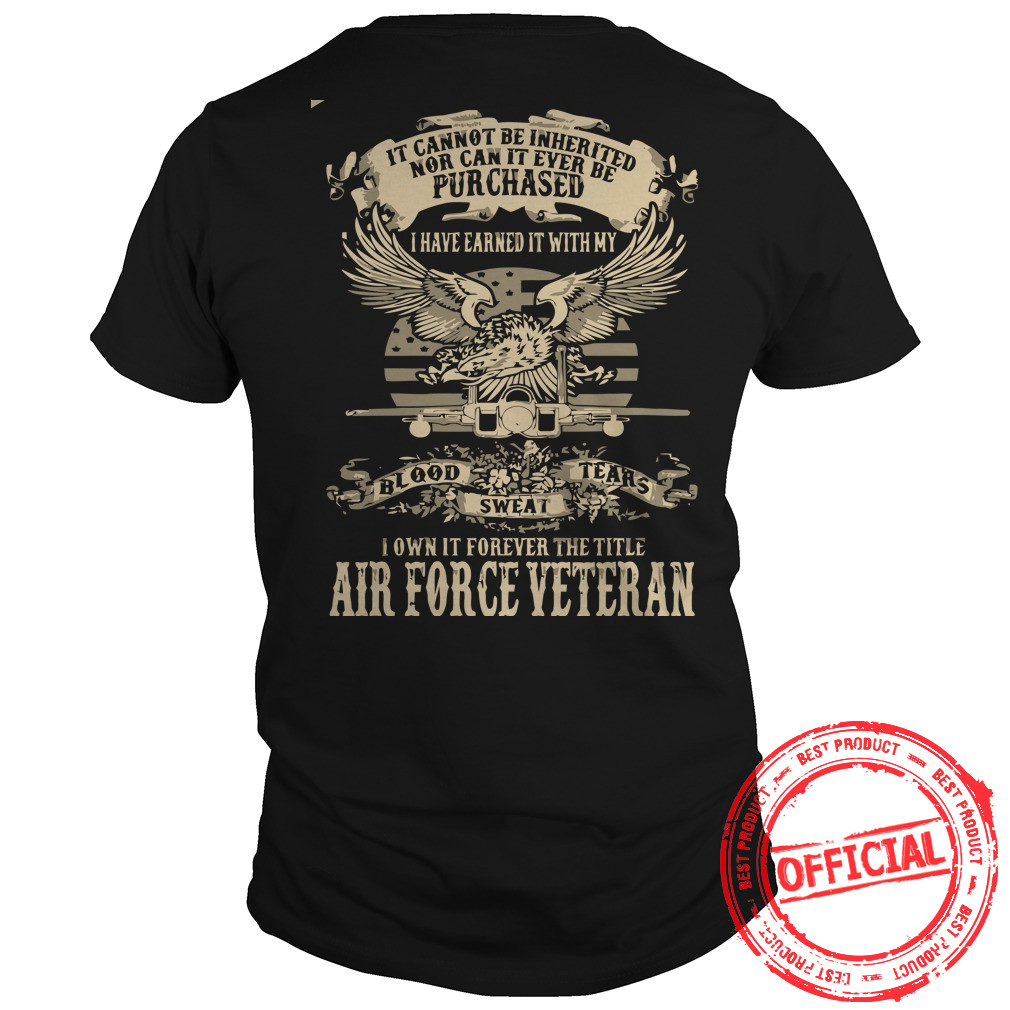 Airforce Veterans,us Army Veteran Guys Tee
