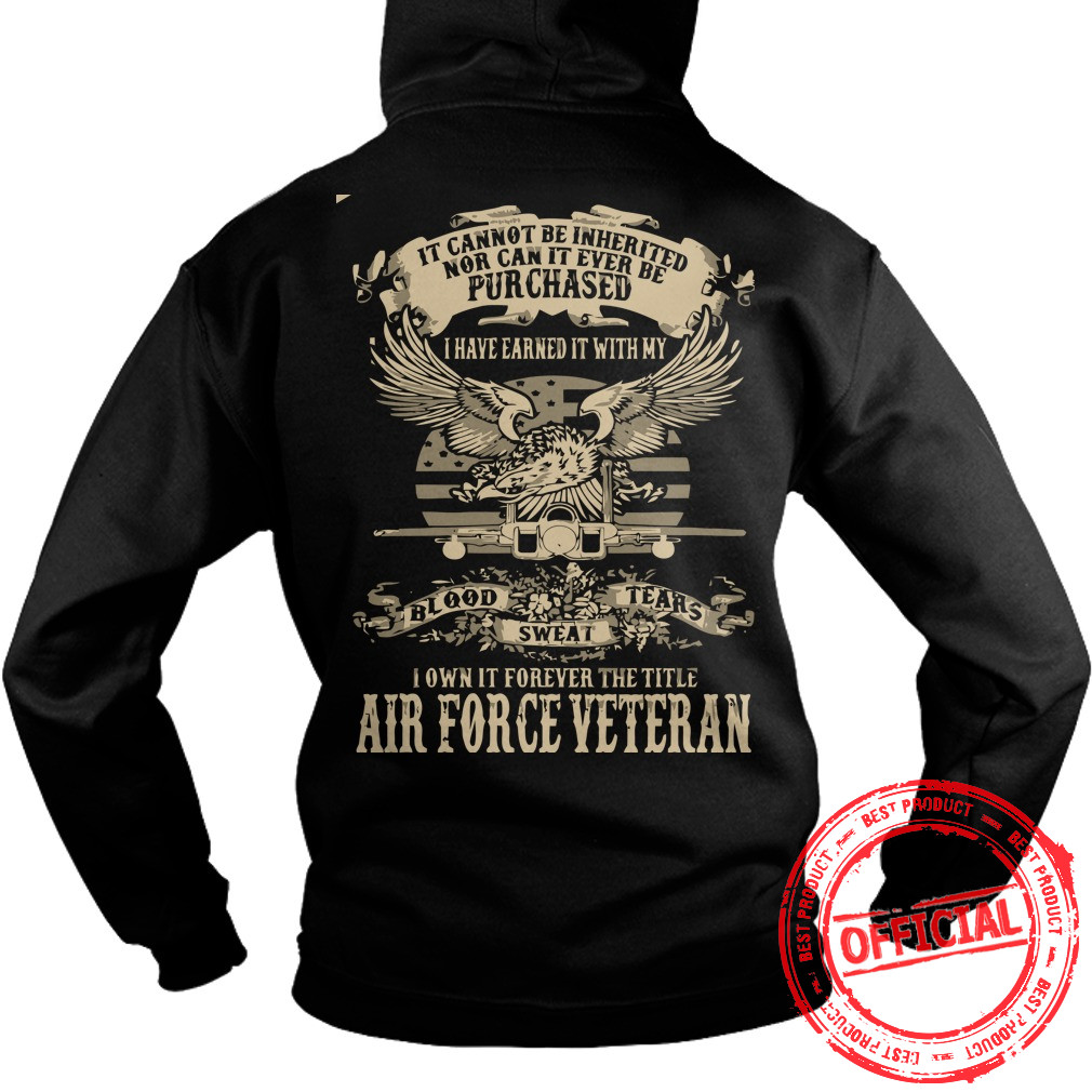 Airforce Veterans,us Army Veteran Hoodie
