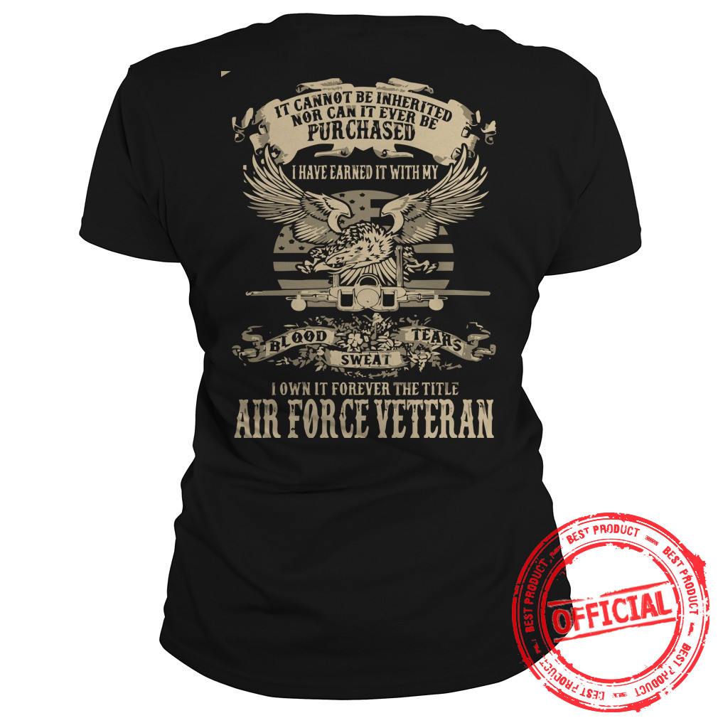 Airforce Veterans,us Army Veteran Ladies Tee