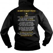 An Army Veterans Prayer Hoodie