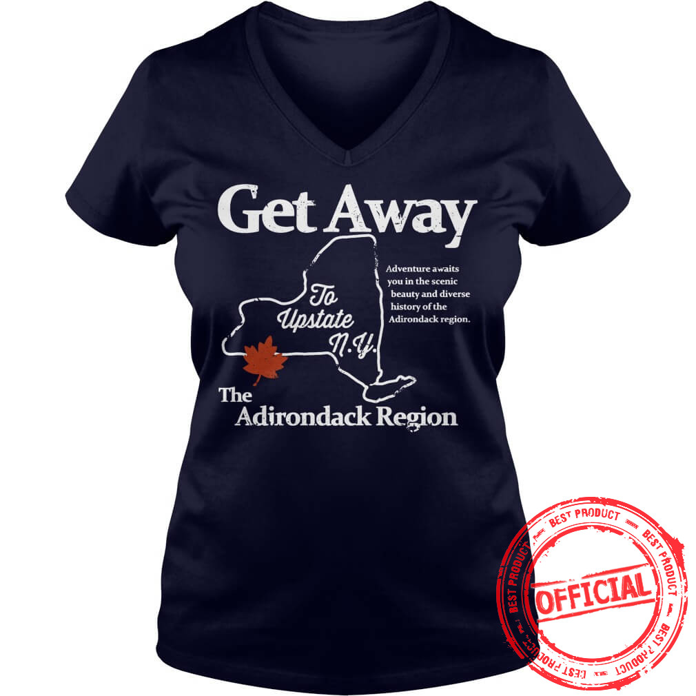 Get Away T Shirt, V Neck.