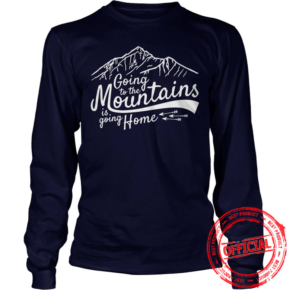 Going To The Mountains Longsleeve