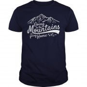 Going To The Mountains Guys Tee
