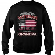 Grandpa Veteran Sweat Shirt