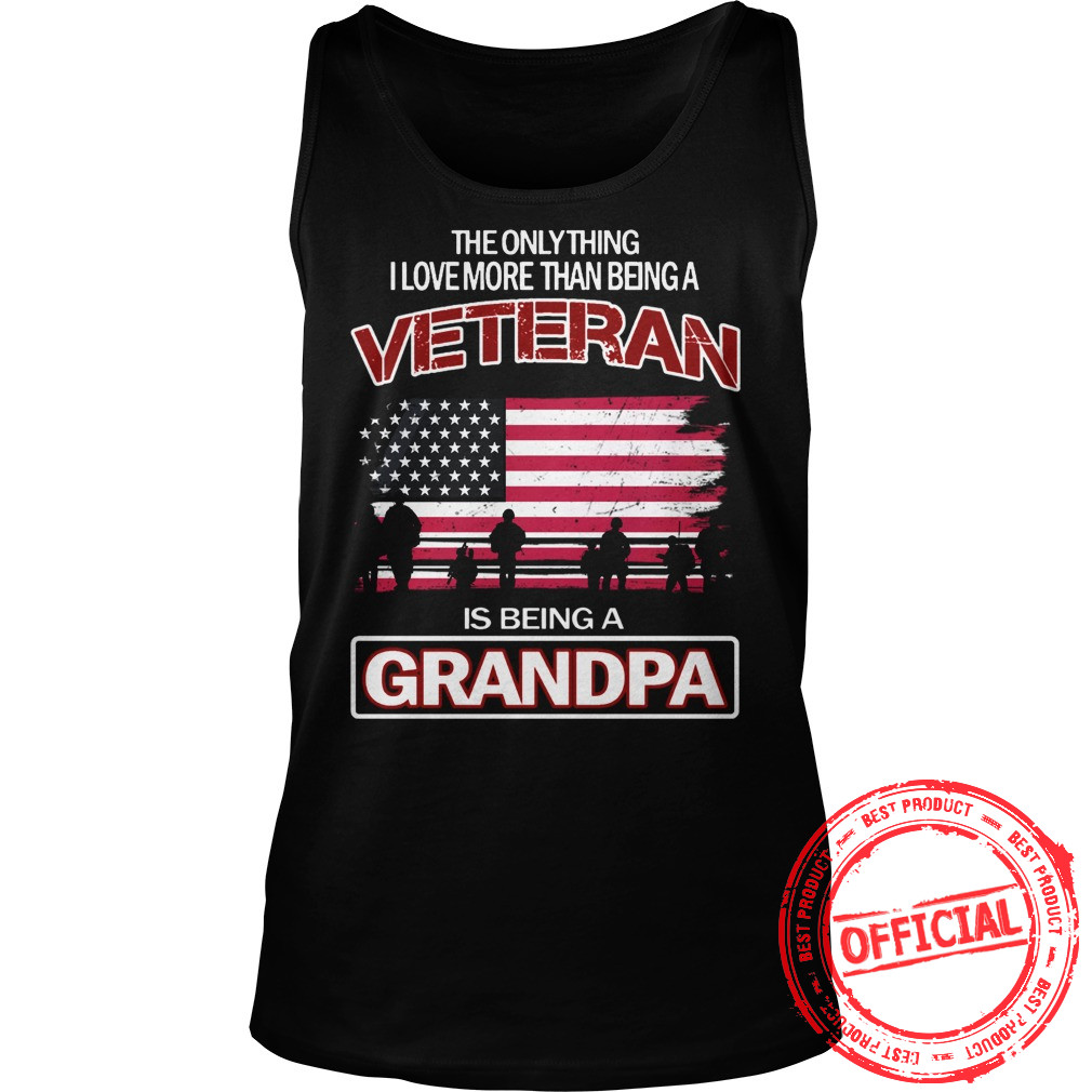 Grandpa Veteran Tank Top