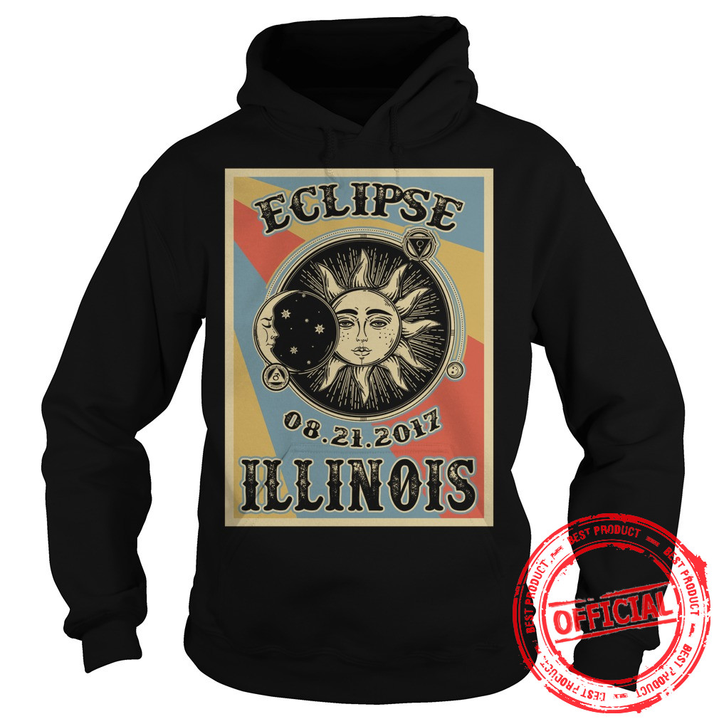 Illinois Solar Eclipse 2017 Hoodie