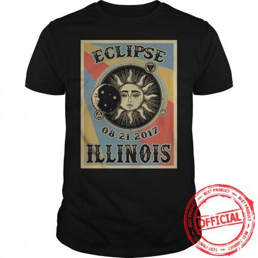 Illinois Solar Eclipse 2017 Shirt