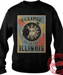 Illinois Solar Eclipse 2017 Sweat Shirt