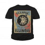 Illinois Solar Eclipse 2017 Youth Tee