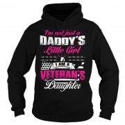 I'm A Vererans Daughter Hoodie