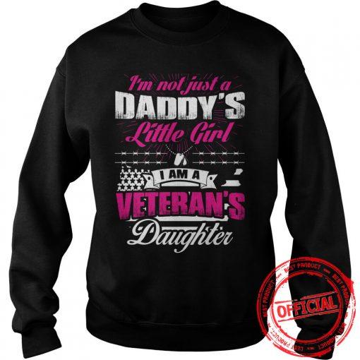 I'm A Vererans Daughter Sweatshirt