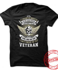 It Cannot Be Inherited Nor Can It Ever Be Purchased Guys Tee