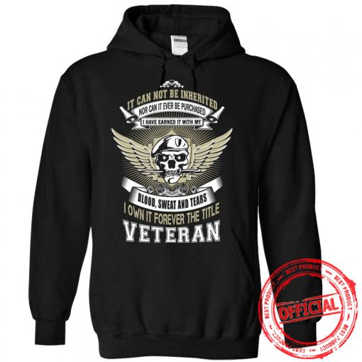 It Cannot Be Inherited Nor Can It Ever Be Purchased Hoodie