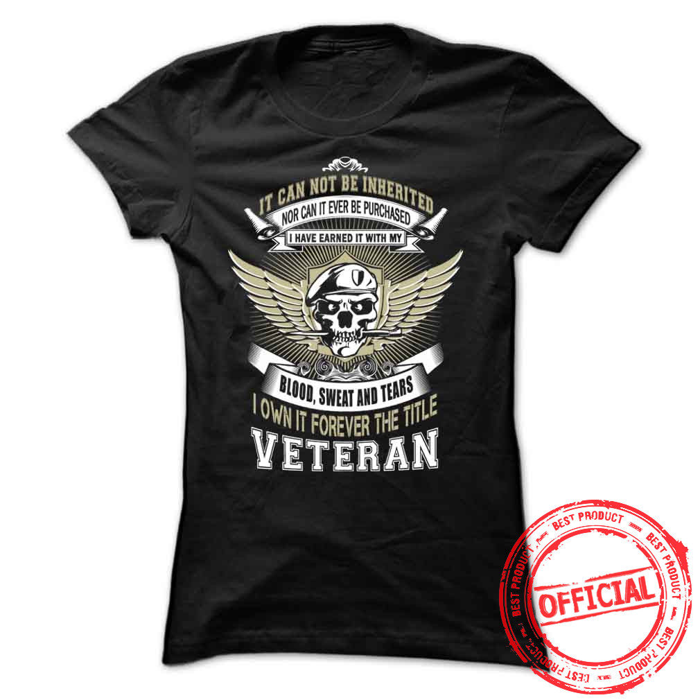 It Cannot Be Inherited Nor Can It Ever Be Purchased Ladies Tee