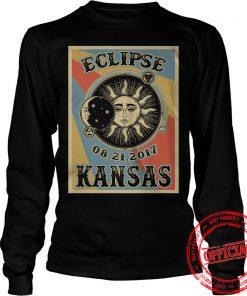Kansas Solar Eclipse 2017 Longsleeve Tee
