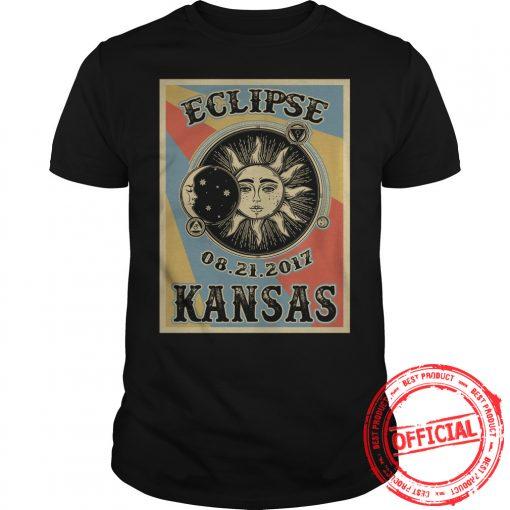 Kansas Solar Eclipse 2017 T Shirt