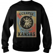 Kansas Solar Eclipse 2017 T Shirt Sweatshirt