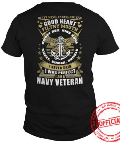 Limited Tee For Navy Veterans Guys Tee