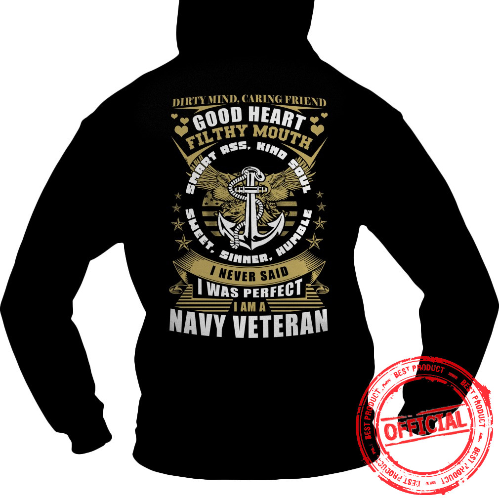Limited Tee For Navy Veterans Hoodie.