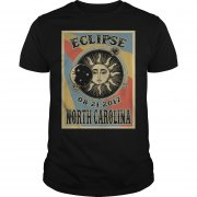 North Carolina Solar Eclipse 2017 T Shirt
