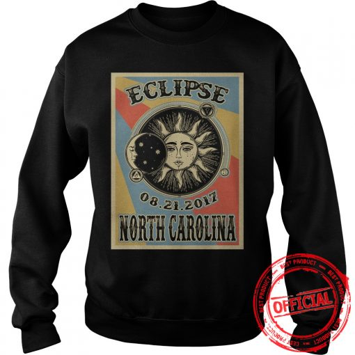 North Carolina Solar Eclipse 2017 Sweat Shirt