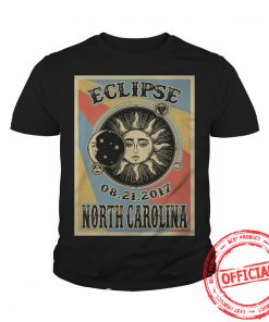 North Carolina Solar Eclipse 2017 Youth Tee