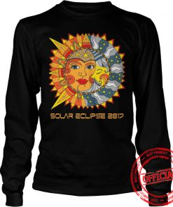 Path Of Totality Solar Eclipse 2017 T Shirt Longsleeeve Tee
