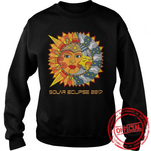 Path Of Totality Solar Eclipse 2017 T Shirt Sweat Shirt