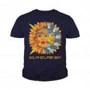 Path Of Totality Solar Eclipse 2017 T Shirt Youth Tee