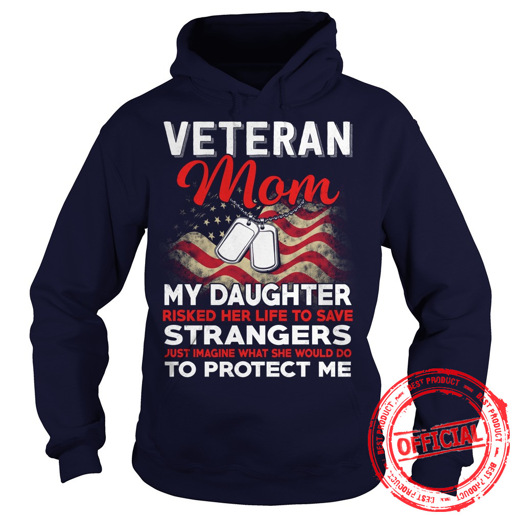 Risk Veteran Mom Daughter Hoodie