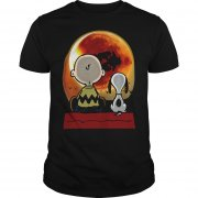Snoopy And Charlie Brown At Solar Eclipse 2017 Shirt