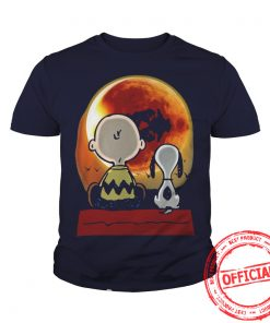 Snoopy And Charlie Brown At Solar Eclipse 2017 Youth Tee